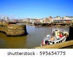 bridlington  yorkshire  uk. may ... | Shutterstock . vector #595654775