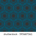 abstract repeat backdrop.... | Shutterstock . vector #595687361
