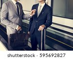Business Men Travel Luggage...