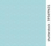 vector polka dots seamless... | Shutterstock .eps vector #595699631