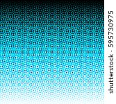 mosaic shape pixels gradient of ... | Shutterstock . vector #595730975