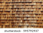 abstract wooden texture of... | Shutterstock . vector #595792937