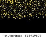 star background. vector... | Shutterstock .eps vector #595919579