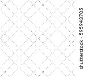 seamless pattern of dots.... | Shutterstock .eps vector #595943705