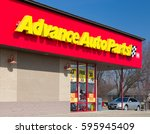 Small photo of BURNSVILLE, MN/USA - MARCH 4, 2017: Advance Auto Parts store exterior and sign. Advance Auto Parts is the largest retailer of automotive replacement parts and accessories in the United States.