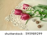 Bouquet Of White Hyacinth And...