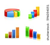 stats icon. vector | Shutterstock .eps vector #596054051