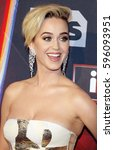 katy perry at the 2017... | Shutterstock . vector #596093951