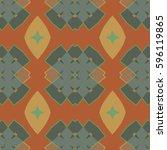 the endless texture.vector... | Shutterstock .eps vector #596119865