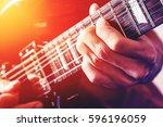 close up shot of the man... | Shutterstock . vector #596196059
