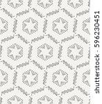 seamless stars lined geometric... | Shutterstock .eps vector #596230451