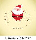 santa claus. vector...   Shutterstock .eps vector #59623369