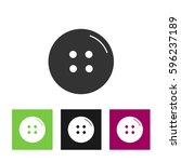 button vector design element | Shutterstock .eps vector #596237189