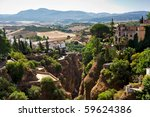 View On Canyon And Old City Of...