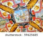 A Ceiling Fresco In The Vatica...