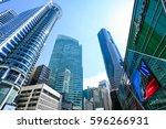 singapore   dec 2014 singapore... | Shutterstock . vector #596266931