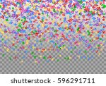 congratulations background with ... | Shutterstock .eps vector #596291711