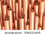 metallurgical industry... | Shutterstock . vector #596311445