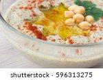Closeup Of A Bowl Of Creamy...