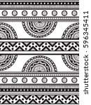 ornamental seamless background. ... | Shutterstock .eps vector #596345411