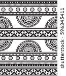 ornamental seamless background. ... | Shutterstock .eps vector #596345411