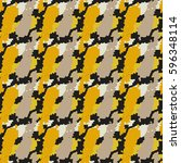 camouflage seamless pattern.... | Shutterstock .eps vector #596348114