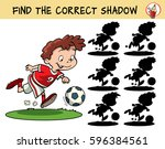football player running with... | Shutterstock .eps vector #596384561
