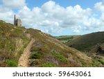 Path To Tywarnhayle Tin Mine...