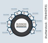 business infographics elements...