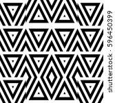 vector seamless pattern.... | Shutterstock .eps vector #596450399