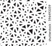 seamless abstract vector... | Shutterstock .eps vector #596493359