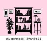 Home Decoration  Bookshelf