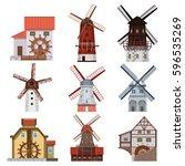 Traditional European Windmills...