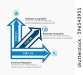 infographic design template | Shutterstock .eps vector #596543951