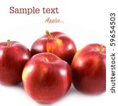ripe apples | Shutterstock . vector #59654503