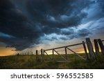 pampas landscape  argentina   Shutterstock . vector #596552585