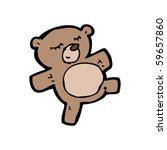 teddy bear cartoon | Shutterstock .eps vector #59657860