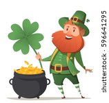 Leprechaun With A Pot Of Gold...
