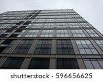 construction of an office...   Shutterstock . vector #596656625