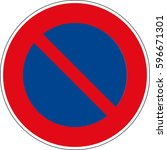 a limited injunction to stop.... | Shutterstock .eps vector #596671301