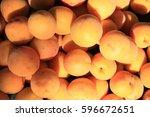 fragment of fresh ripe apricot...