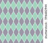 seamless vector abstract... | Shutterstock .eps vector #596682944