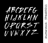 graphic font for your design.... | Shutterstock .eps vector #596685011