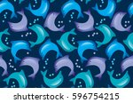 Abstract Dolphin Seamless...