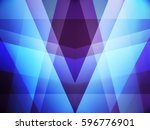 rays of light passing through... | Shutterstock . vector #596776901