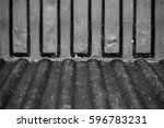 abstract old grunge rusty... | Shutterstock . vector #596783231