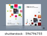 business vector template.... | Shutterstock .eps vector #596796755
