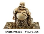 Smiling Buddha   Chinese God O...