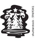christmas tree | Shutterstock .eps vector #5969341