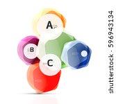 glass modern geometrical...   Shutterstock .eps vector #596943134